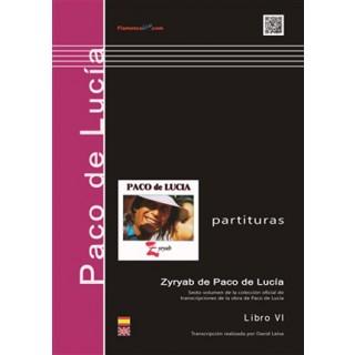 24069 Paco de Lucía - Zyryab / Transcrito por David Leiva