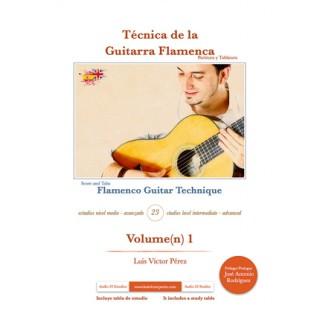 25159 Luis Víctor Pérez - Técnica de la guitarra flamenca Vol 1