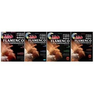 28557 David Leiva - Método de cante y baile flamenco y su acompañamiento. Voz y guitarra Vol 1, 2, 3, y 4