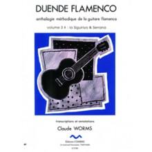 10315 Claude Worms - Duende flamenco. Antología metódica de la guitarra flamenca. Serrana & Siguiriya. Vol 3B