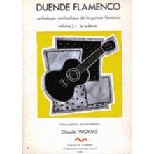 10317 Claude Worms - Duende flamenco. Antología metódica de la guitarra flamenca. Tangos, Tientos & Farruca. Vol 4A