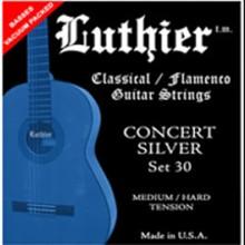 13420 Luthier Concert Silver 30. Tensión Media/Fuerte