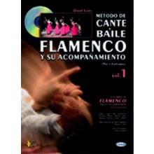 18257 David Leiva - Métdo de cante y baile flamenco y su acompañamiento. Voz y guitarra. Vol 1