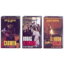 20596 Carlos Saura & Antonio Gades - Bodas de sangre de Federico Garcia Lorca. El amor brujo de Manuel de Falla. Carmen novela de Merimee y opera de Bizet