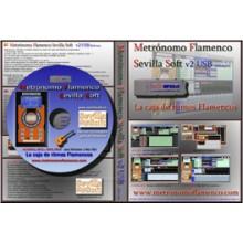 20877 Metrónomo Flamenco Sevilla Soft v2 - Software USB+CD