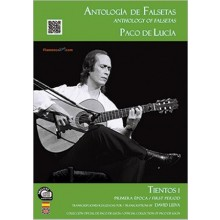 24445 Paco de Lucía - Antología de falsetas de Paco de Lucía. Tientos 1 Primera época