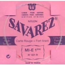 25585 Savarez Cuerda 1 Carta Roja 521R HT