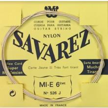 25620 Savarez Cuerda 6 Carta Amarilla 526J XHT
