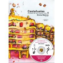 27039 Emma Maleras - Castañuelas. El estudio del ritmo flamenco Vol 8