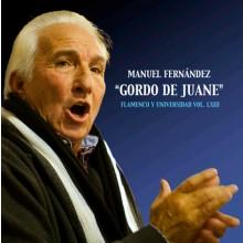 """28262 Manuel Fernández """"Gordo de Juane"""" - Flamenco y universidad Vol LXIII"""