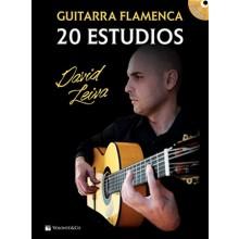 28325 David Leiva - 20 estudios de guitarra flamenca
