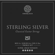 31111 Knobloch Sterling Silver Carbon C.X. 600SCX Set Super High