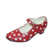 Zapato flamenco iniciación con lunares