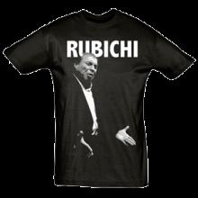 Camiseta Hombre Negra Rubichi
