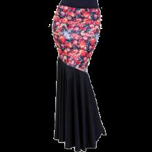 Falda flamenca con canesú en diagonal EF036