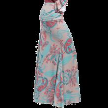 Falda flamenca básica estampada sin godet EF271