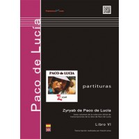 Paco de Lucía - Zyryab (LIBRO)