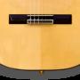 Puente guitarra flamenca electroacústica cutaway sicomoro 131 Azahar