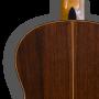 Detalle trasera Guitarra flamenca artesanal Juan Montes - Modelo Cocobolo