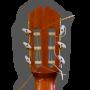 Clavijero trasera Guitarra flamenca artesanal Juan Montes - Modelo Sándalo