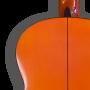 Detalle trasera Guitarra flamenca artesanal Juan Montes - Modelo Sándalo