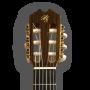 Clavijero frontal Guitarra flamenca artesana Prudencio Sáez modelo 22 ciprés