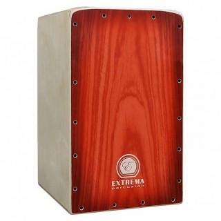 28020 Cajón Flamenco Intact Decor Rojo Extrema Percusión