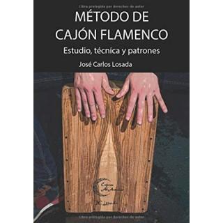 28632 Método de cajón flamenco. Estudio, técnica y patrones - José Carlos Losada