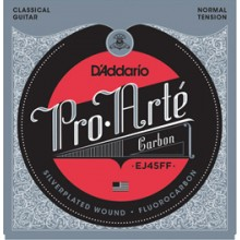 23706 D´Addario EJ45FF Carbón Tensión Normal