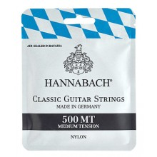 25138 Hannabach 500 MT Tension Media (Cuerdas)