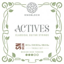 25776 Knobloch Actives SN Nylon Treble Set Tensión Media-Fuerte