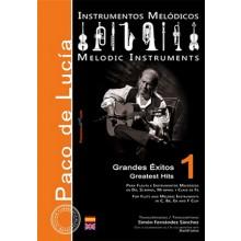 27830 Paco de Lucía - Grandes éxitos para instrumentos melódicos Vol 1