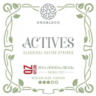 25771 Knobloch Actives QZ Nylon Treble Set Tensión Media-Fuerte