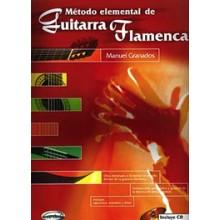 12653 Manuel Granados Método elemental de guitarra flamenca