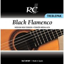 24053 Royal Classics - Black flamenco treblepak