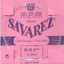 25586 Savarez Cuerda 2 Carta Roja 522R HT