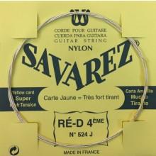 25618 Savarez Cuerda 4 Carta Amarilla 524J XHT