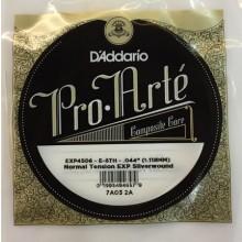 25663 Cuerda 6ª D'Addario EXP Tensión Normal Guitarra Clásica EXP4506