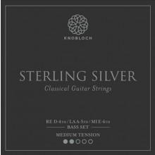 25795 Knobloch Sterling Silver Bass Set Tensión Media