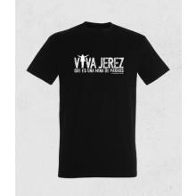 """31064 Camiseta unisex de VIVA JEREZ QUE ES UNA MINA DE PARAOS de Manuel Sordera """"Bo"""""""