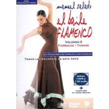 14445 Manuel Salado - El baile flamenco Vol 3 Farrucas, Tangos