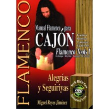 18721 Miguel Reyes Jiménez - Manual flamenco para cajón