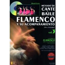 19544 David Leiva - Método de cante y baile flamenco y su acompañamiento. Vol. 3