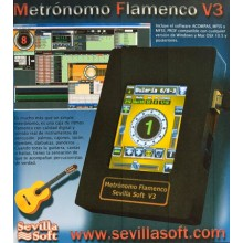 24305 Metrónomo Flamenco Sevilla Soft V3