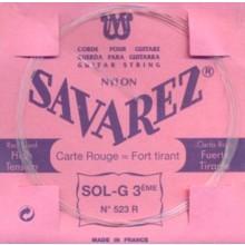 25587 Savarez Cuerda 3 Carta Roja 523R HT