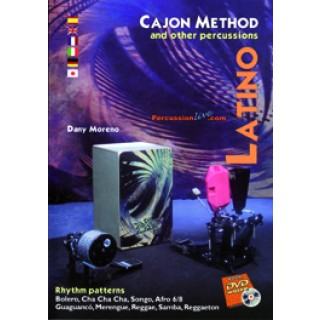 19269 Dany Moreno - Cajon method and other percusión. Latino