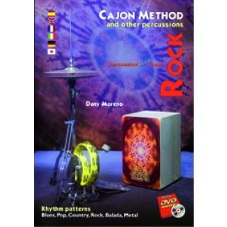 19270 Dany Moreno - Cajon method and other percusión. Rock