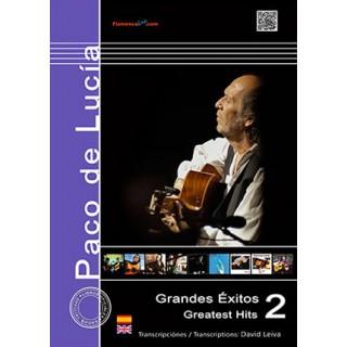 25871 Paco de Lucía - Grandes éxitos Vol 2 / Transcrito por David Leiva