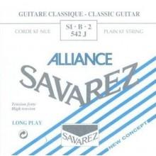 14161 Cuerda Savarez Clásica 2a Alliance Azul 542J