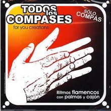 14389 Sólo compás - Todos los compases. Ritmos flamencos con palmás y cajón